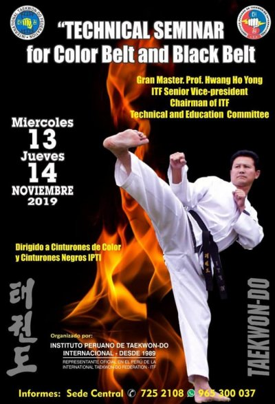 Technical seminar with GM Hwang Ho Yong