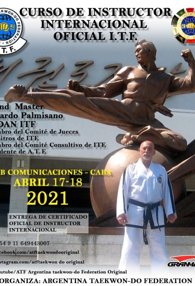 INTERNATIONAL  INSTRUCTOR COURSE- ARGENTINA  2021