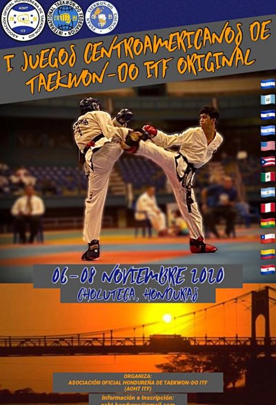 1st Central American Taekwon-Do ITF Games 2020