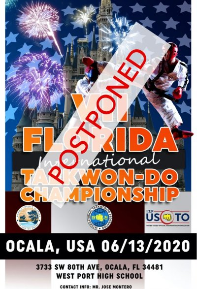 V II Florida International Taekwon-Do Championship, 2020
