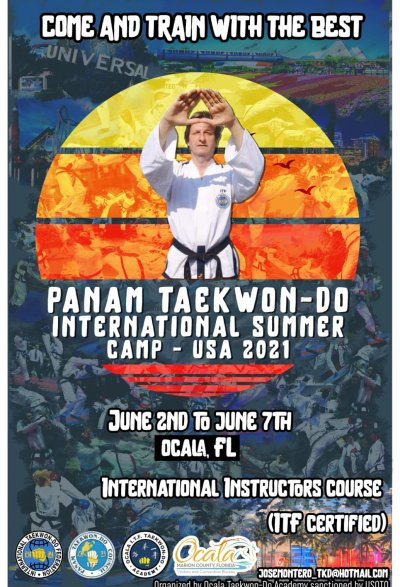 PANAM Summer Camp, International Instructor Course