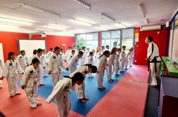 New Zealand first classroom Dojang