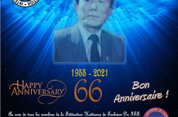 Happy 66th Anniversary TAEKWON-DO