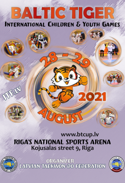 International CHild & Youth Games BALTIC TIGER CUP 2021