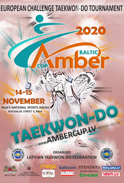 European Challenge Taekwon‑do Tournament Baltic Amber Cup 2020