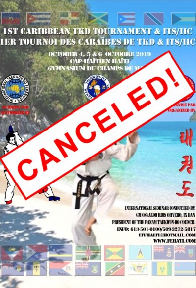 1st Caribbean Taekwon-Do ITF Tournament & ITS / IIC