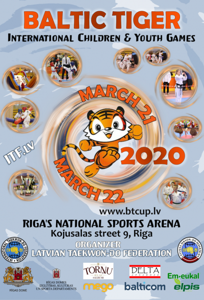 International Taekwon-do Youth  Games Baltic Tiger Cup 2020