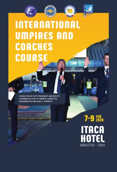 Int'l Umpire Course & Int'l Coach Course