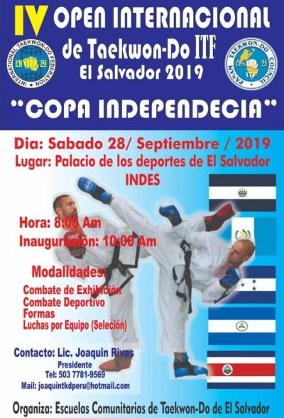 Open Internernational ITF El Salvador 2019